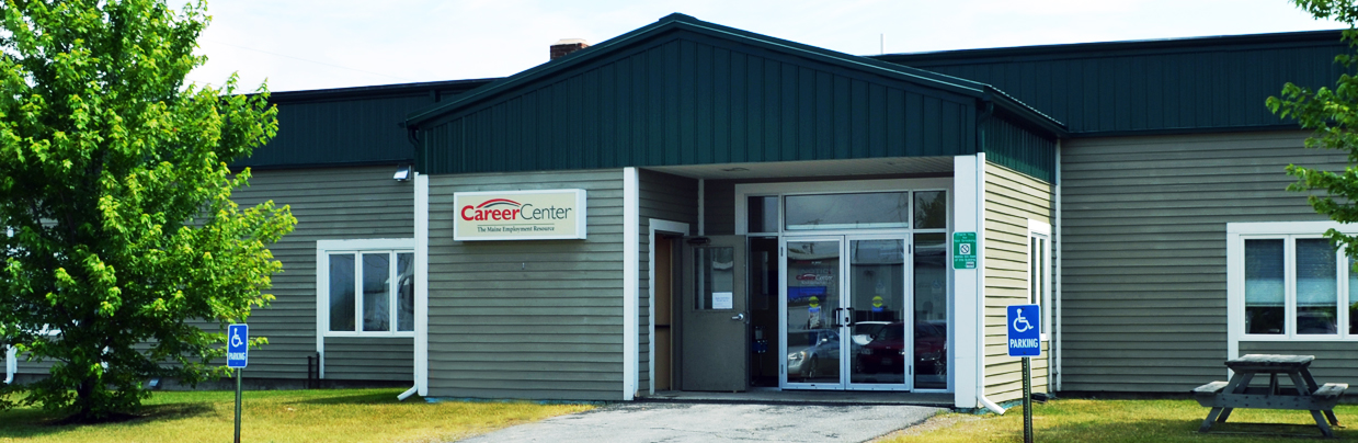 Entrance to the Presque Isle Career Center